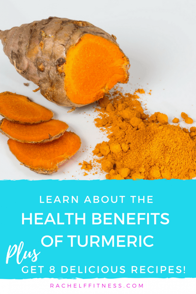Learn about the amazing Health Benefits of Turmeric. Plus get 8 delicious turmeric recipes, including golden milk, turmeric tea, smoothies, and more.