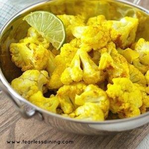 Turmeric Curry Cauliflower Recipe from