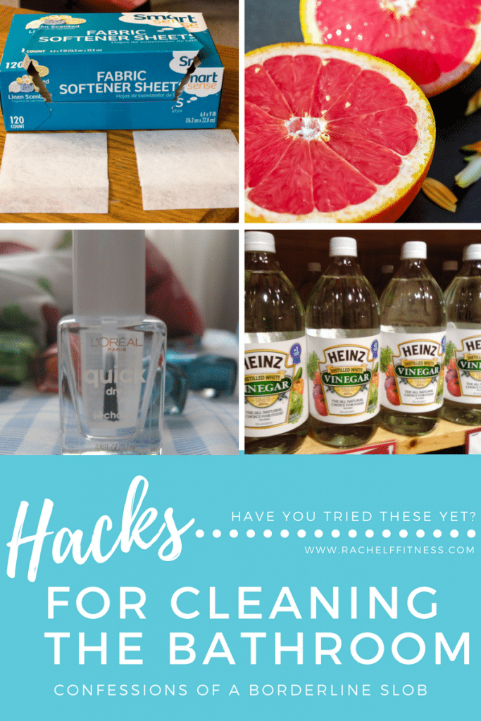 Hacks for Cleaning the Bathroom | Rachel Freebairn Fitness