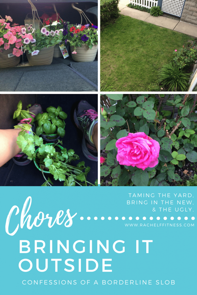 Outside Chores | Rachel Freebairn Fitness