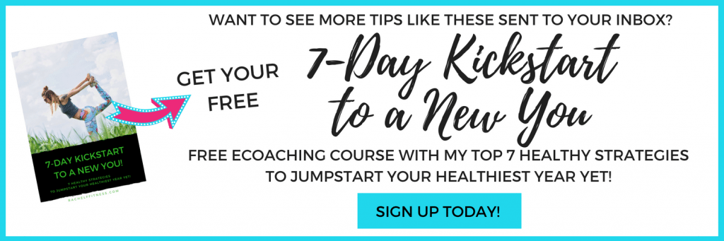 7 Day Kickstart to a New You Ecoaching Course. Sign up to get 7 Healthy Strategies delivered to your inbox.