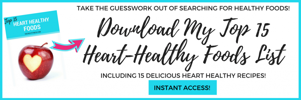 Heart Healthy Foods List - Free Download