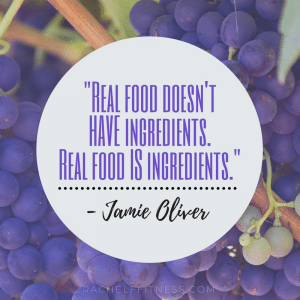 Real food doesn't HAVE ingredients. Real food IS ingredients. - Jamie Oliver Quote