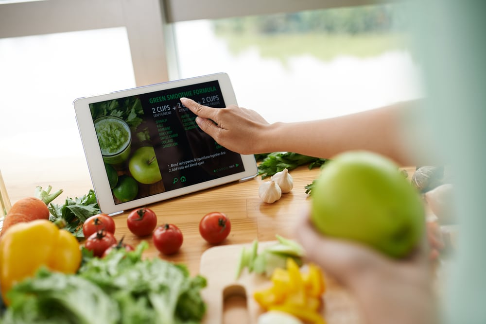 Meal Planning for beginners and using technology in the kitchen.