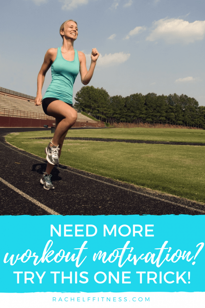Do you struggle to make time for exercise? Do you lack workout motivation? Learn this one trick for finding all the motivation you need to reach your goals! | Rachel Freebairn Fitness | Fitness Motivation | Motivational Quotes | #motivation #workouttips #workoutmotivation