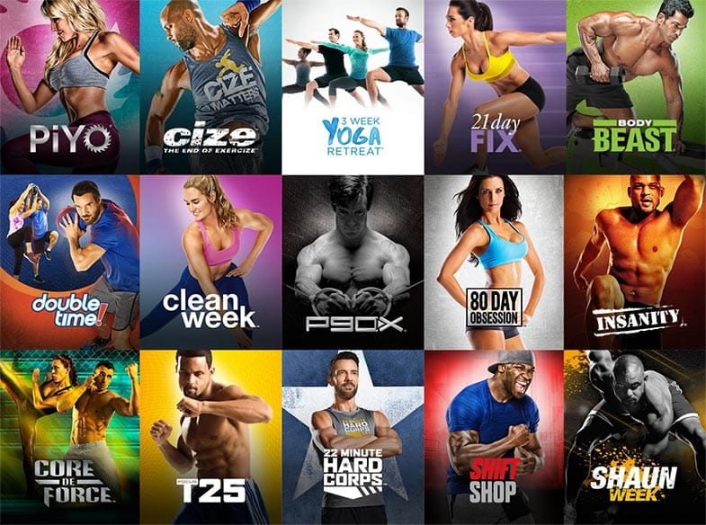 Beachbody on Demand Workout Library